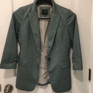 The Limited Twill Blazer with 3/4 Sleeve